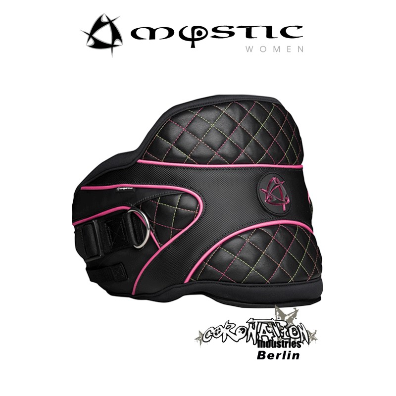 Mystic Hypnotize Woman femme Kite-harnais ceinture Black-Pink