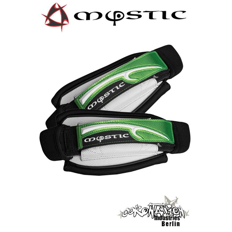 Mystic Kite Footstrap Adjustable Set White vert