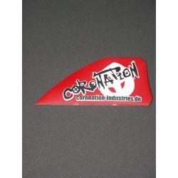 Coronation-Industries Kiteboard-ailerons Aggressiv 50 rouge