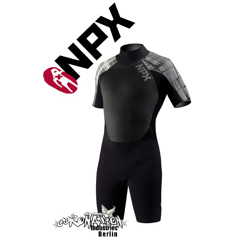 NPX Shorty Cult Black Dark Grey