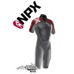NPX Shorty Cult Dark Grey Red