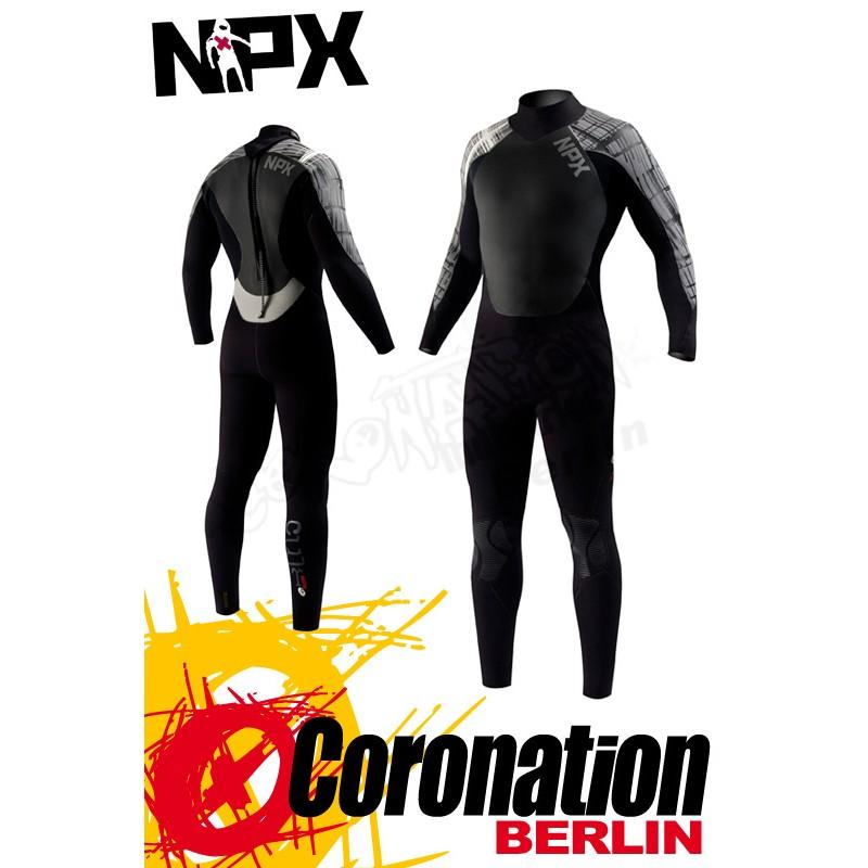 NPX Cult combinaison neoprène Black Dark Grey
