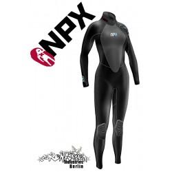 NPX Vamp woman neopren suit Black Blue