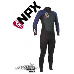 NPX Cult Neoprenanzug Black Navy