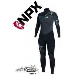 NPX Sinner woman neopren suit Aqua Graphite