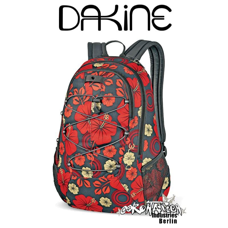 Dakine Transit Street-Schul & Freizeit Rucksack Island Flower Girls Backpack