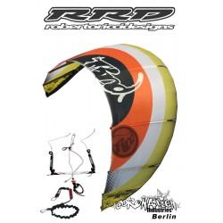 RRD Roberto Ricci Addiction Delta Shape Kite 12qm komplett