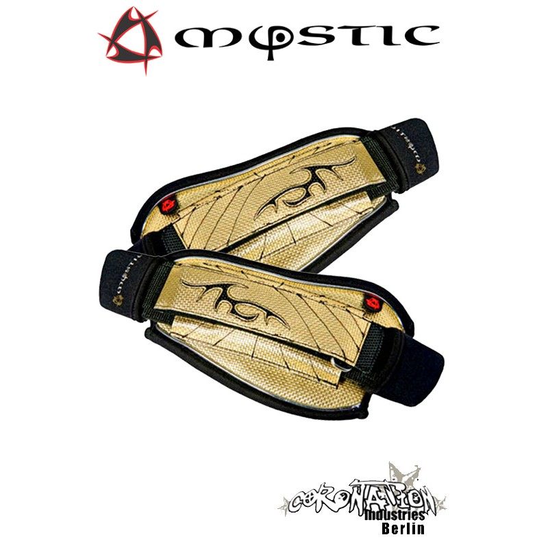 Mystic Kite Footstrap Adjustable Set Gold