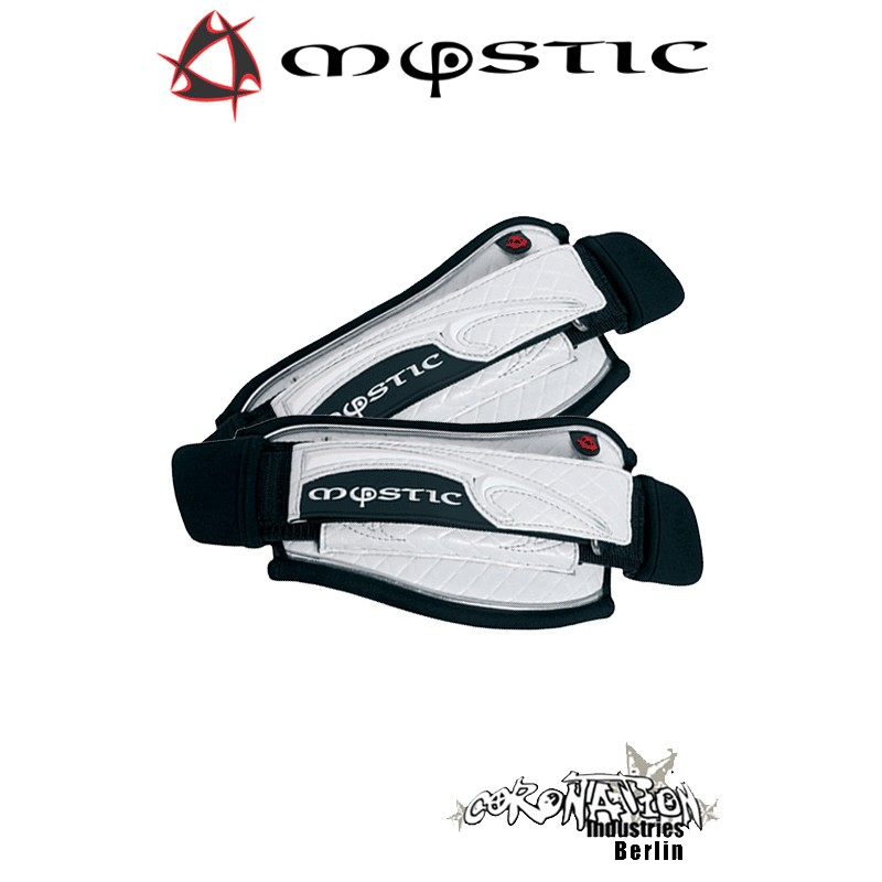 Mystic Kite Footstrap Adjustable Set White
