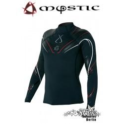 Mystic Crossfire Rash Vest L/S Black