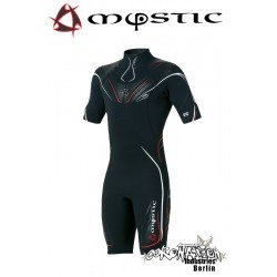 Mystic combinaison neoprène Crossfire Shorty 3/2 D/L Black