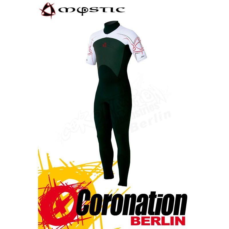 Mystic combinaison neoprène Shortarm 3/2 D/L Black/White