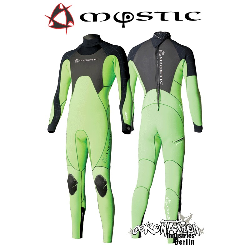 Mystic Crossfire LEN10 Steamer 5/3 D/L Neoprenanzug Green