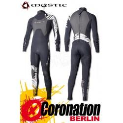 Mystic combinaison neoprène Crossfire Steamer 5/3 D/L Black/White