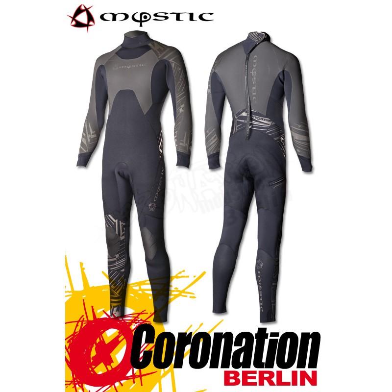 Mystic Crossfire 6/3 Crosstech Steamer Neoprenanzug Black