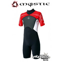 Mystic Neoprenanzug Shorty 3/2 D/L Red