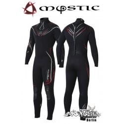 Mystic Neoprenanzug Crossfire Steamer 5/3 D/L Black/Red