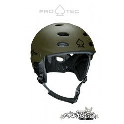 Pro-Tec ACE Wake Kite-Helm mat Army vert