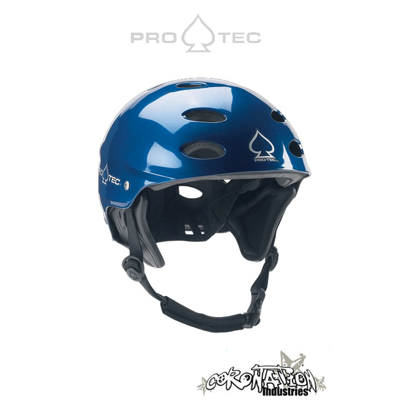 Pro-Tec ACE Wake Kite-Helm Gloss Blue