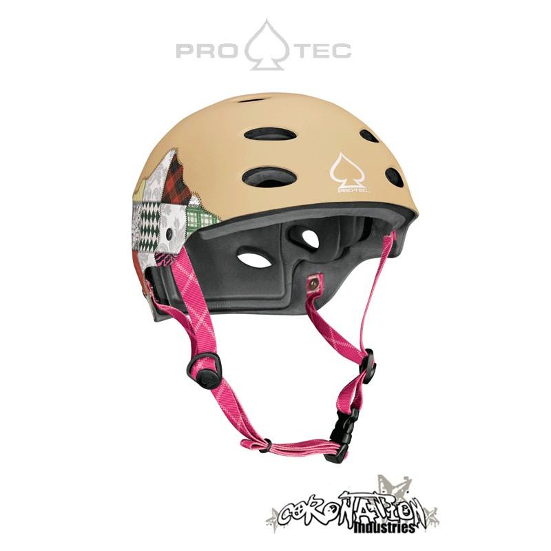 Pro-Tec ACE Water Kite-Helm Patches Khaki