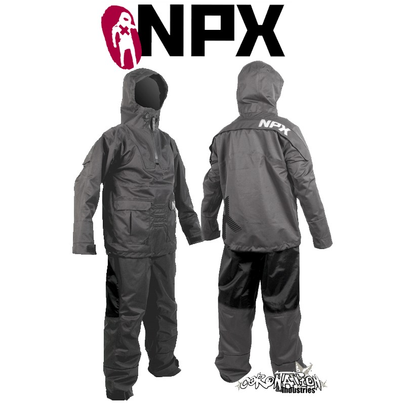 NPX Lucifer Trockenanzug 2010 Anthrazit