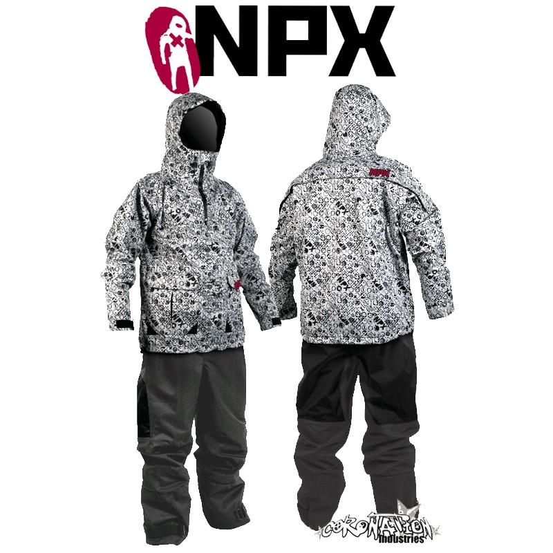 NPX Lucifer Trockenanzug 2010 Grey Test / Gebraucht