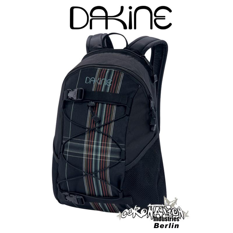 Dakine Wonder Girls Skate & Street Rucksack Midnightplaid Fashion Pack 15L