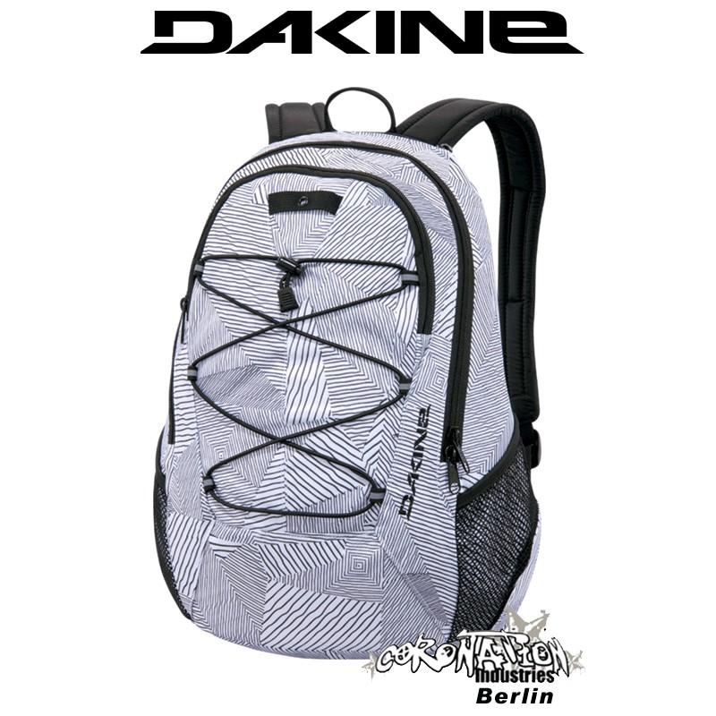 Dakine Transit Schul-Freizeit-Rucksack White Patches