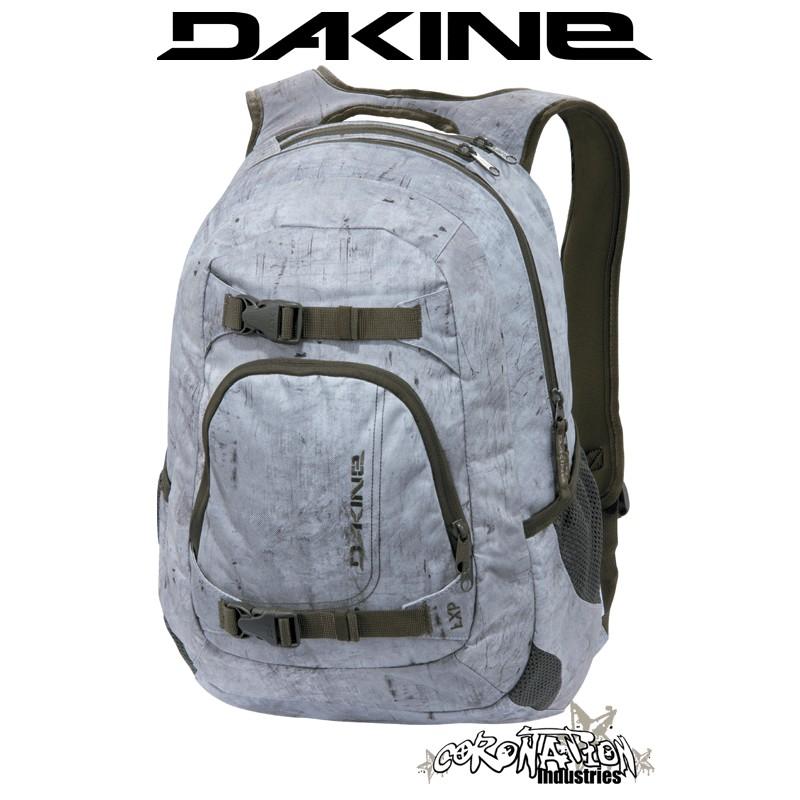 Dakine Explorer Snow-Skate-Schul-Laptop-Rucksack bomber