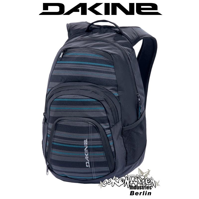 Dakine Campus-SM Schul-Sport-Street-Rucksack Black Stripes