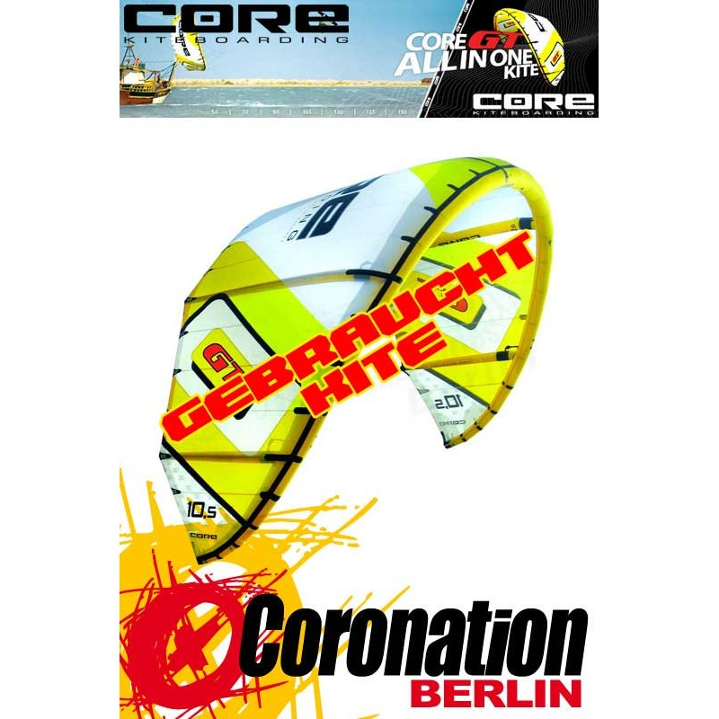 Core GT occasion-Kite 10,5 qm