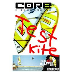Core GT occasion-Kite Test-Kite 9 qm