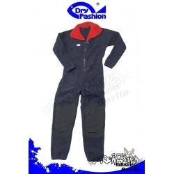 Dry Fashion Fleece Underall (360gr) für Trockenanzug Marine/Rot