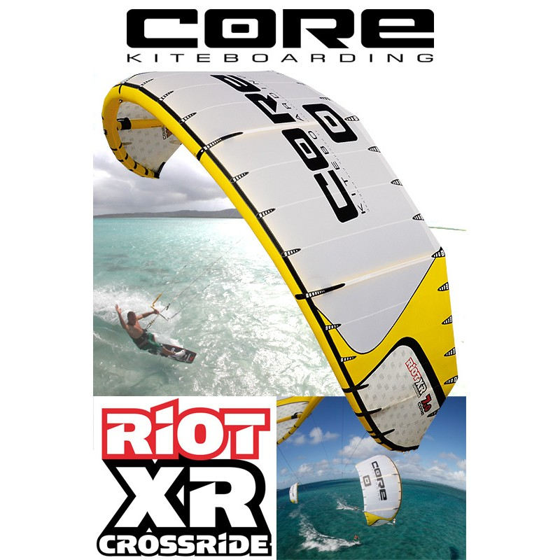 Core 2010 Riot XR Crossride Kite 15qm