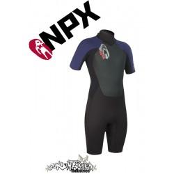 NPX Shorty Cult Black-Navy