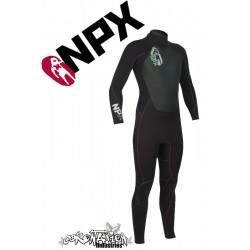 NPX Cult neopren suit Black Black