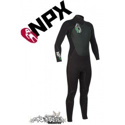 NPX Cult Neoprenanzug Black Black