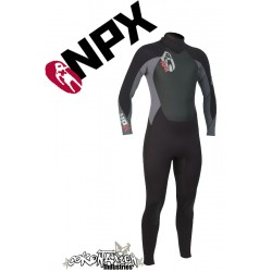 NPX Cult neopren suit Black Ash