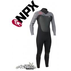 NPX Assassin neopren suit Black-Ash
