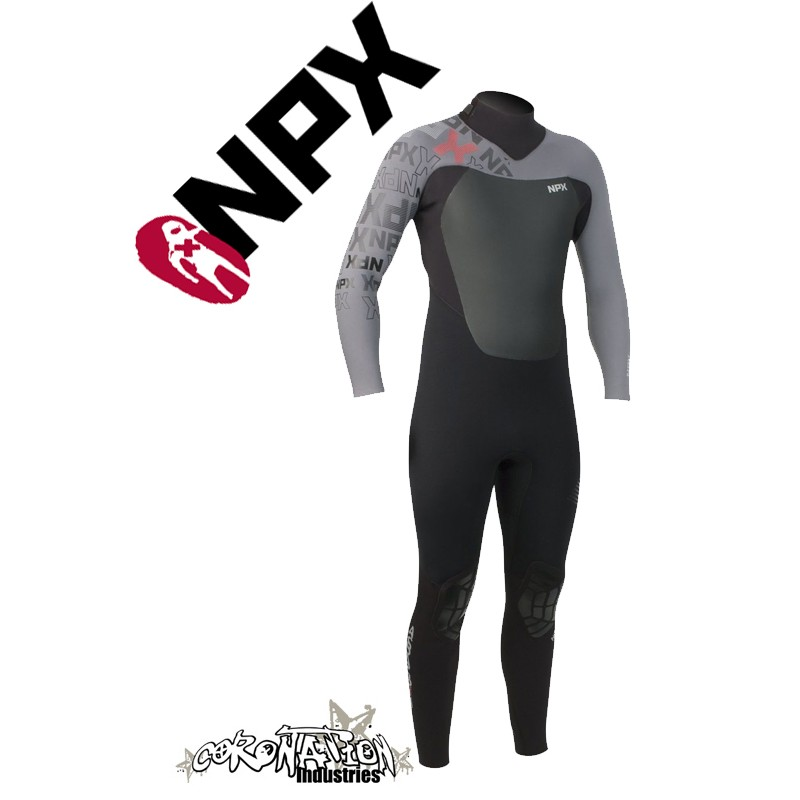 NPX Assassin Neoprenanzug Black-Ash