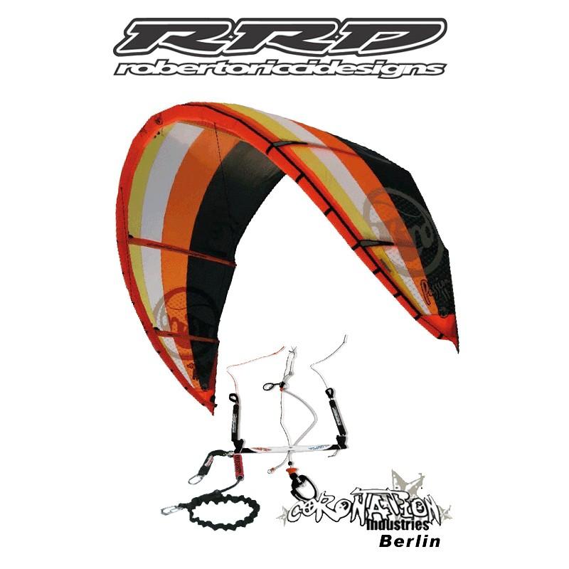 RRD Roberto Ricci Passion 2009 Kite 7qm komplett