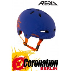 REKD Elite Icon Blue/Orange Helm