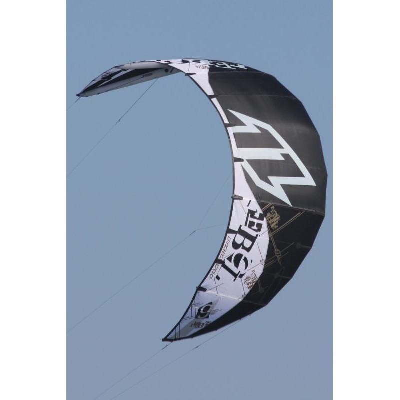 North Rebel Kite 2009 Freeride-Freestyle-Wave Kite 8 qm