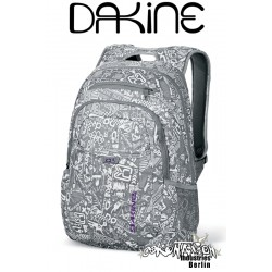 Dakine Factor Grey Chop Shop Schul Laptop-Rucksack