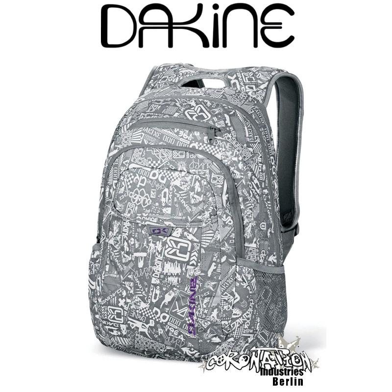 Dakine Factor Grey Chop Shop Schul Laptop-Rucksack