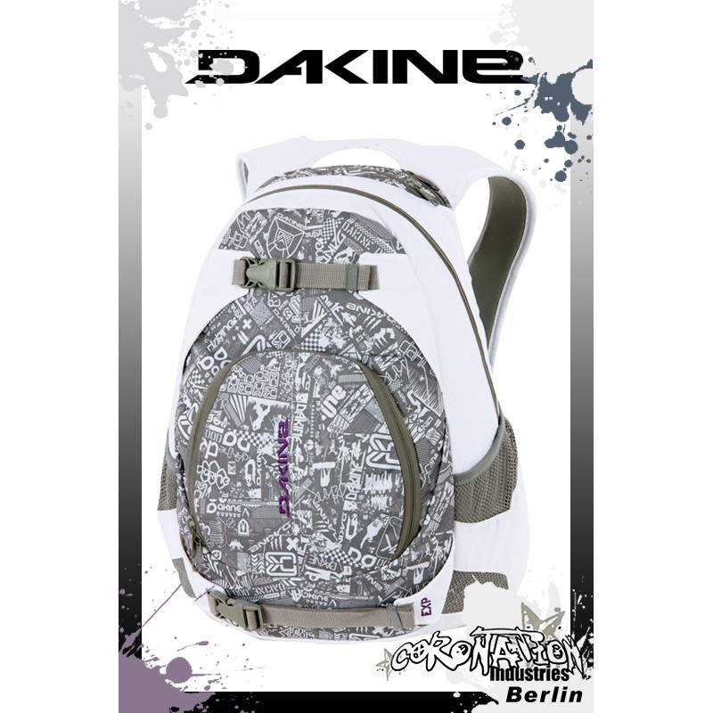 Dakine Rucksack Explorer Pack white grey chopshop