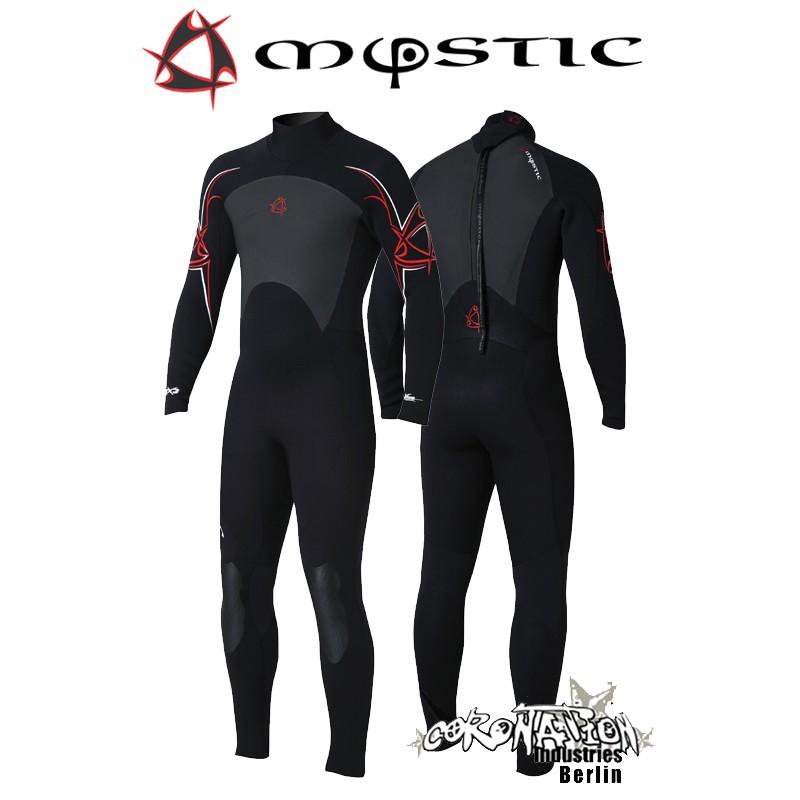 Mystic Steamer 5/3 D/L Neoprenanzug Black