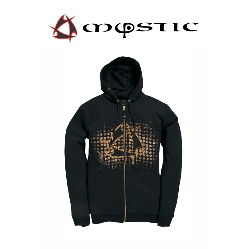 Mystic Star Hooded Sweat Moonless Night capuchen Pullover