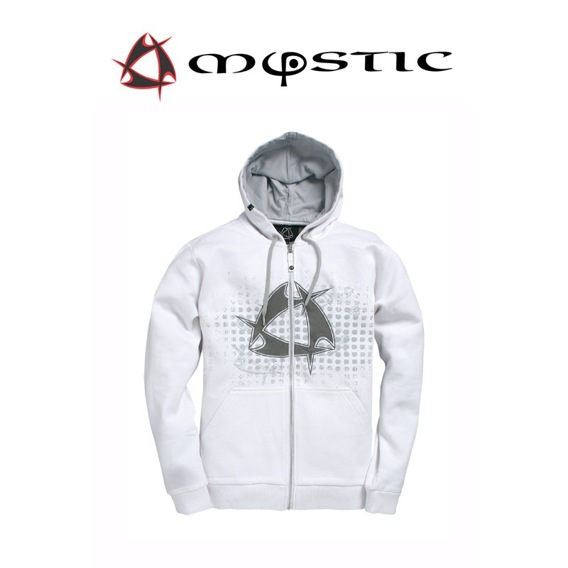 Mystic Star Hooded Sweat Bright White Kapuzen Pullover