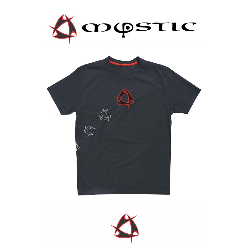 Mystic T-Shirt Tee Single Jersey Moonless Night